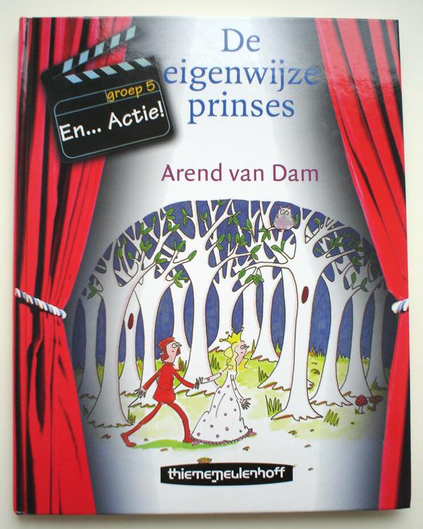 Kaft 'De eigenwijze prinses'