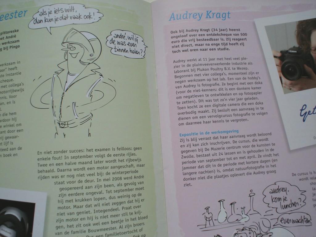 Illustraties tijdschrift OFP