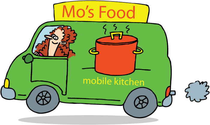 Logo Mo's Food- Mobiele catering
