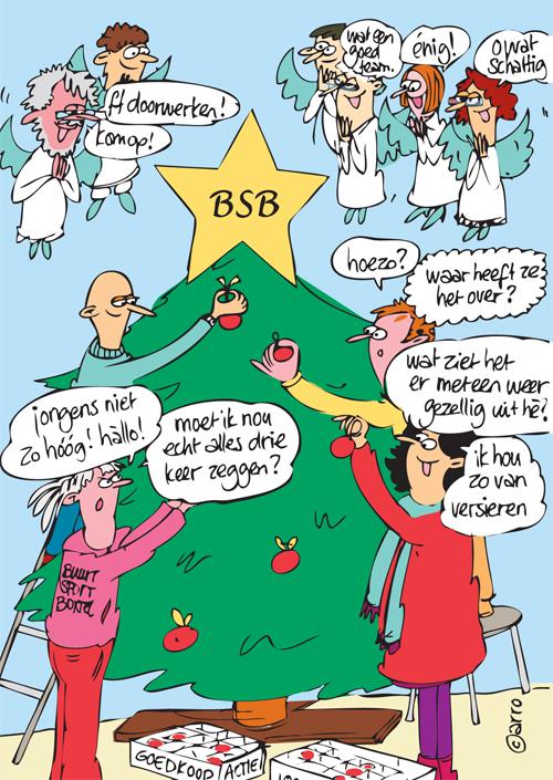 Kerstkaart BSB 2012